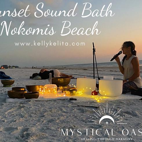 Sunset Sound Bath On Nokomis Beach - March 4th