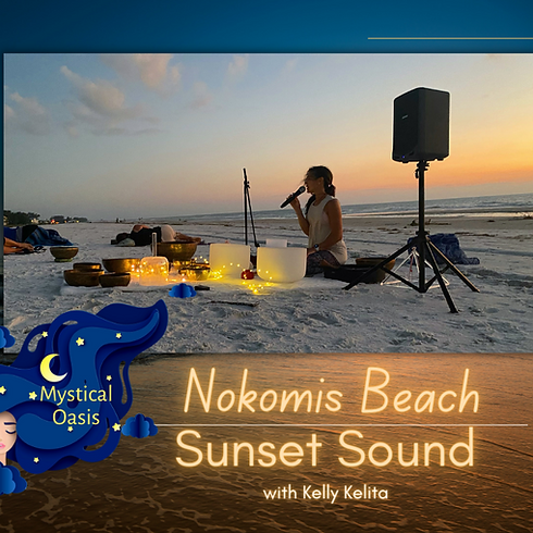 Nokomis Beach Sunset Sound Bath - Oct 14