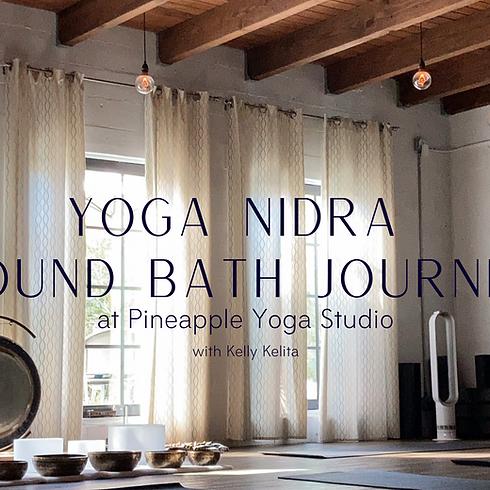 Yoga Nidra  + Sound Bath Journey