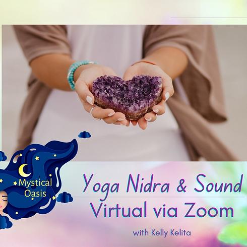 VIRTUAL - Yoga Nidra Meditation & Sound Journey