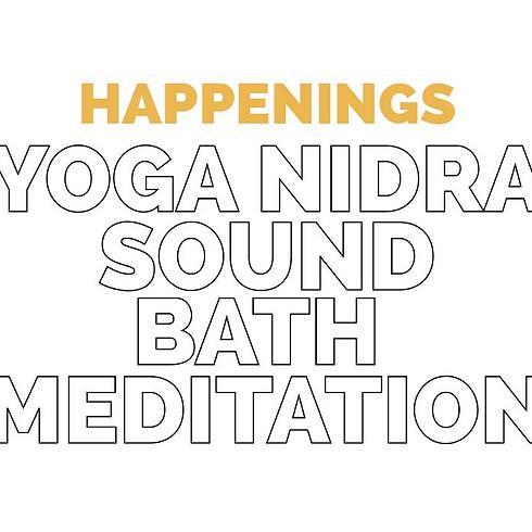 Yoga Nidra  + Sound Bath Meditation
