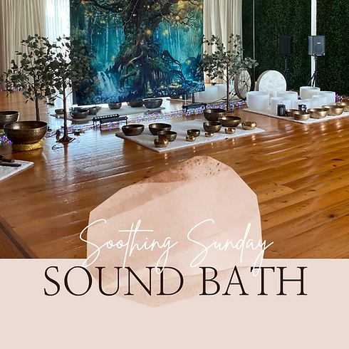 Soothing Sunday Sound Bath