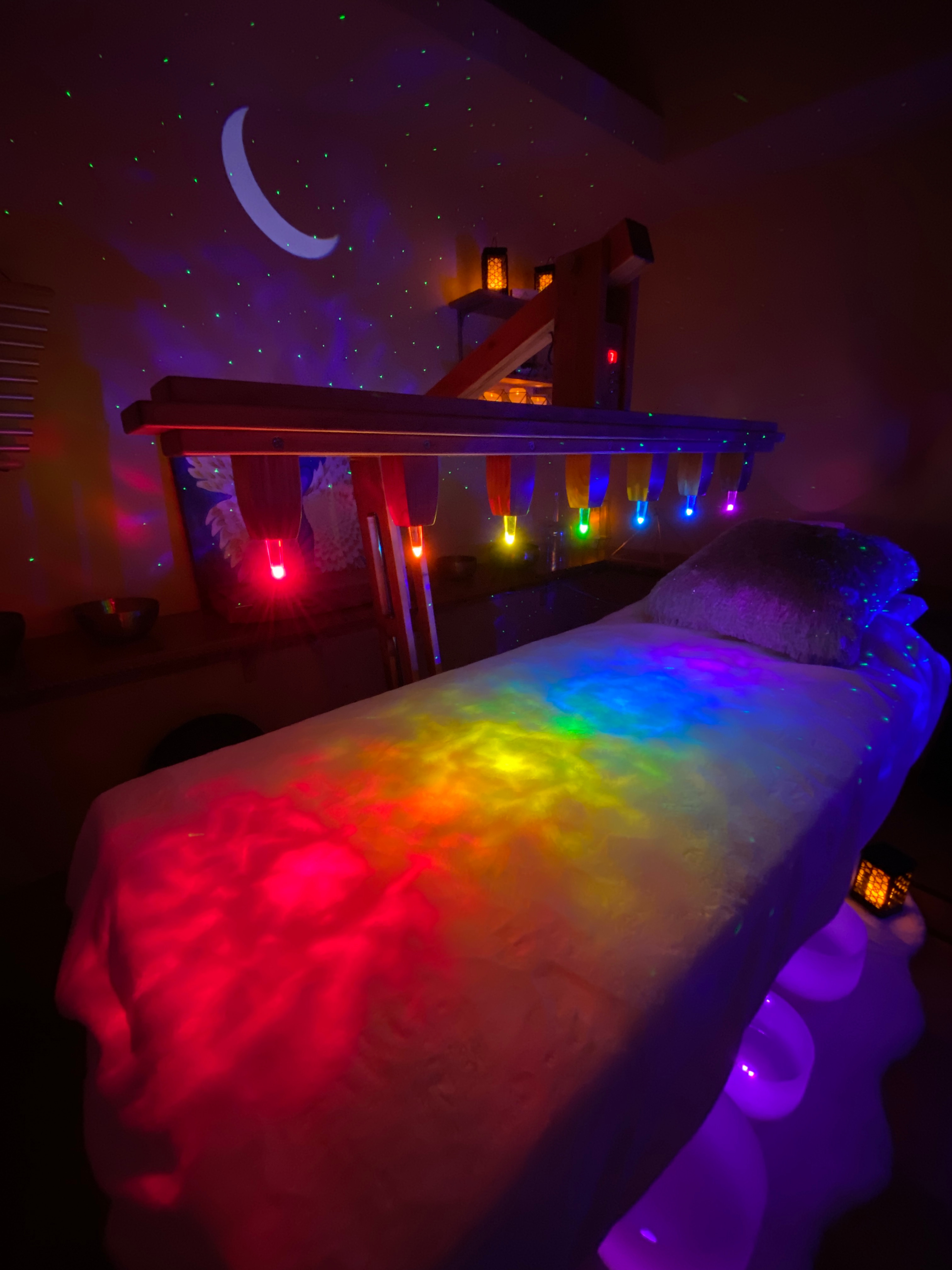 Crystal Light Bed Therapy