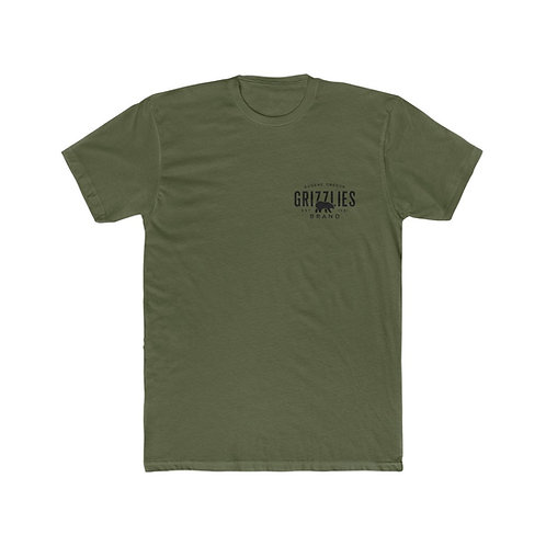 Cotton Crew Grizzlies Logo Tee