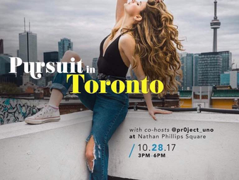 [Pursuit in Toronto]: Pursuit of Portraits & Pr0ject_Uno Instameet
