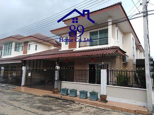 บ้านแฝด 2 ชั้น เนื้อที่ 37.6 ตรว.  หมู่บ้าน เอกกวิน 3 รังสิต-คลอง2