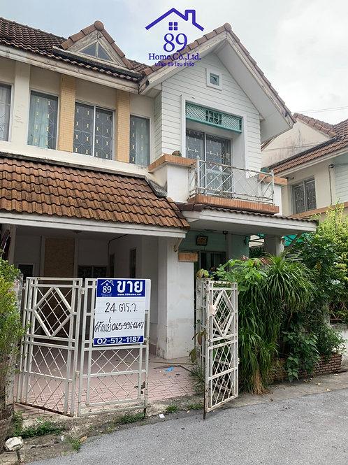 ขายบ้านแฝด2 ชั้น หมู่บ้านพูนสินธานี3