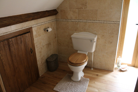 Plumbtec Gas bathroom installation