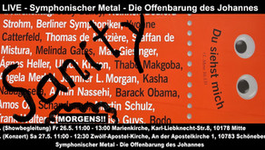 26. May 2017 Sanity at the Kirchentag for a second show!