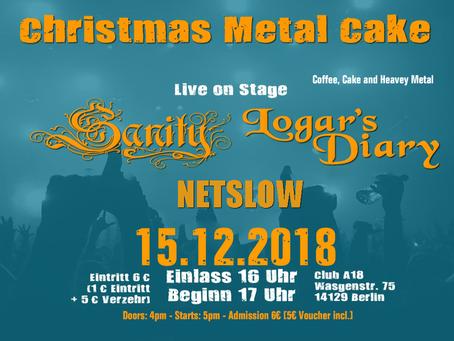Sanity – Live in Concert! 15. Dezember 2018 Club A18, Berlin Zehlendorf