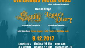 Sanity – Live in Concert! 9. December 2017, Club A18 Berlin Zehlendorf