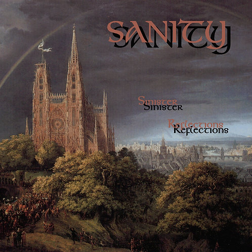 CD Sanity - Sinister Reflections (1998)