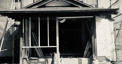 住宅のリノベーション。新津本町中央公園パッチワークプロジェクト。小さい住宅の活用と可能性。