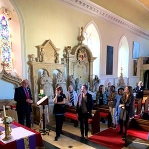 Touring The Chapel at Hazlewood Castle