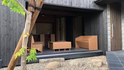 妬ましいほど美しかった段ボール家具!