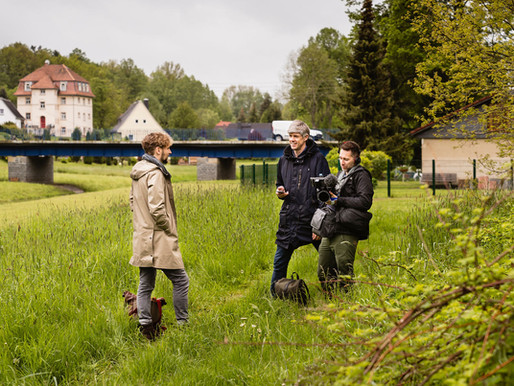 Deutsche Welle begleitet Dreharbeiten