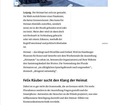 Glosse in der Leipziger Volkszeitung