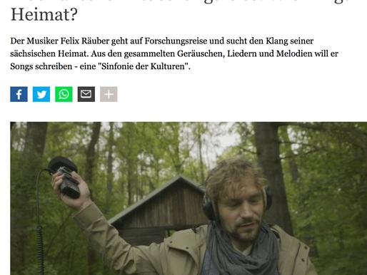 """Deutsche Welle sendet Beitrag: """"Musikalische Entdeckungsreise"""""""