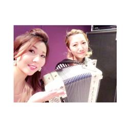 accordionist 吉岡りささん