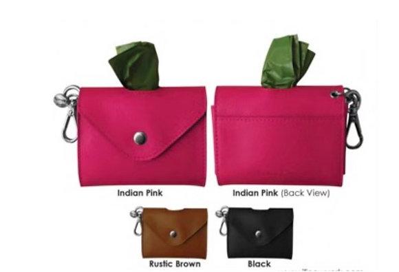 Leather Dog Bag Holder