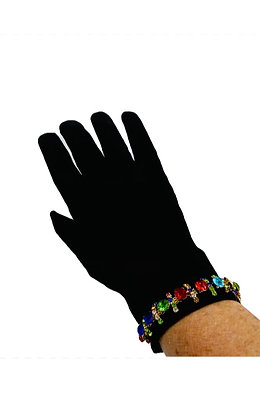 Jewel Suede Gloves