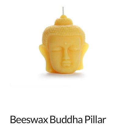 Beeswax Buddha Sculpture Candle