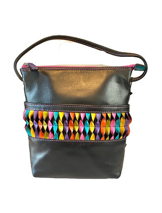 Leather Crossbody with a Twist