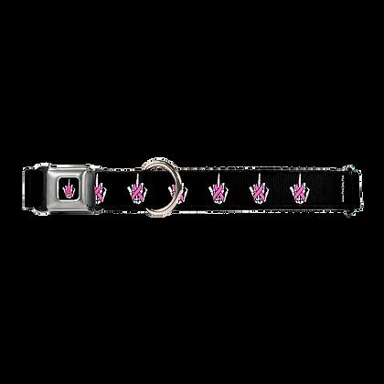 Pink Ribbon Finger Dog Collar