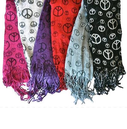 Gauze Peace Scarves