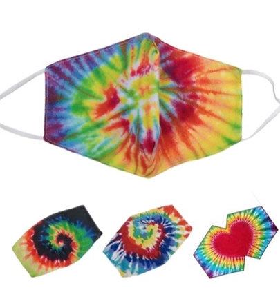 Tie Dye Bright Masks