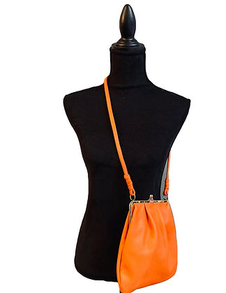 Bags By Viva Orange Leather