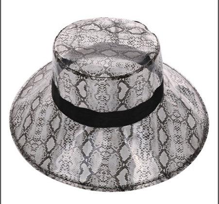 Snake Print Bucket Rain Hat