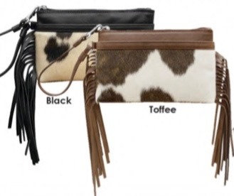 Urban Western Wristlet Leather