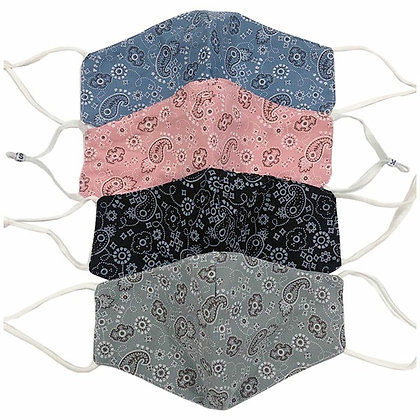 Paisley Bandana Masks