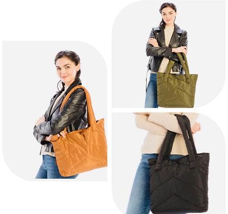 Puff Tote Bag