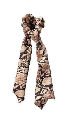 Snakeskin Scrunchies