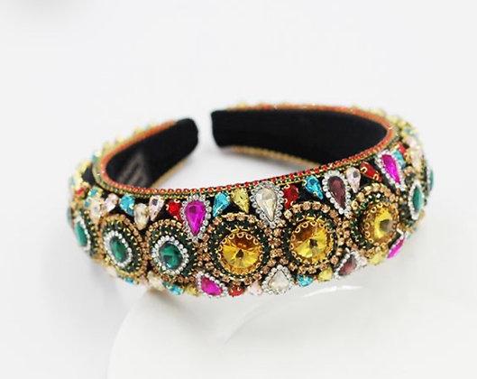 Jeweled Padded Headband