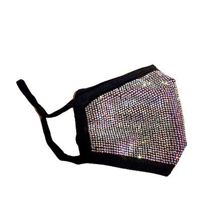 Super Glittery Crystal Fashion Mask