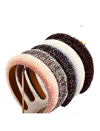 Crystal Padded Headbands