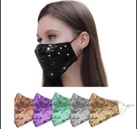 Sequin Masks