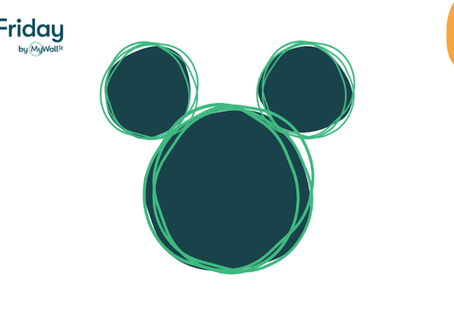 MyWallSt's First-Ever Special Edition Disney Five On Friday!!!🐭🐭