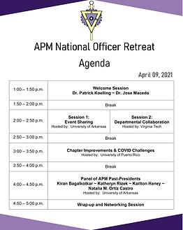 APM Retreat Agenda Flyer.png
