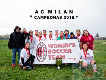 Un partido de mujeres que lucharon por el trofeo de Campeón...