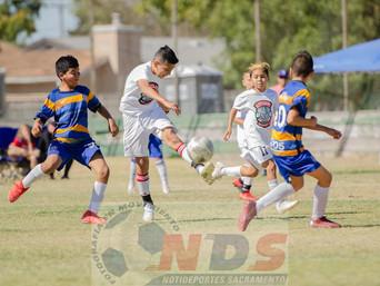 Una final de Futbol que desperto mucha pasión en sus seguidores de Aguilitas y Azteca f.c.