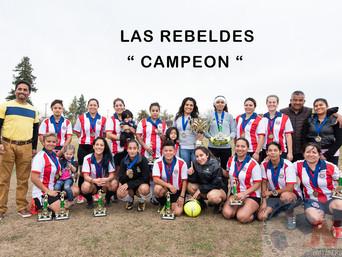 """Las """"Rebeldes"""" conquistaron el bicampeonato de la Liga del Pacifico ante su rival """"La"""