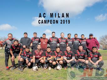 La gran final de futbol en Colusa CA. entre Alianza F.C. y A.C. Milan, dos grandes equipos que diero