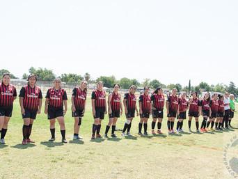 """Nuevamente """" LAS LEONAS """" se han coronado al vencer al equipo """" A.C. MILAN ."""" un"""