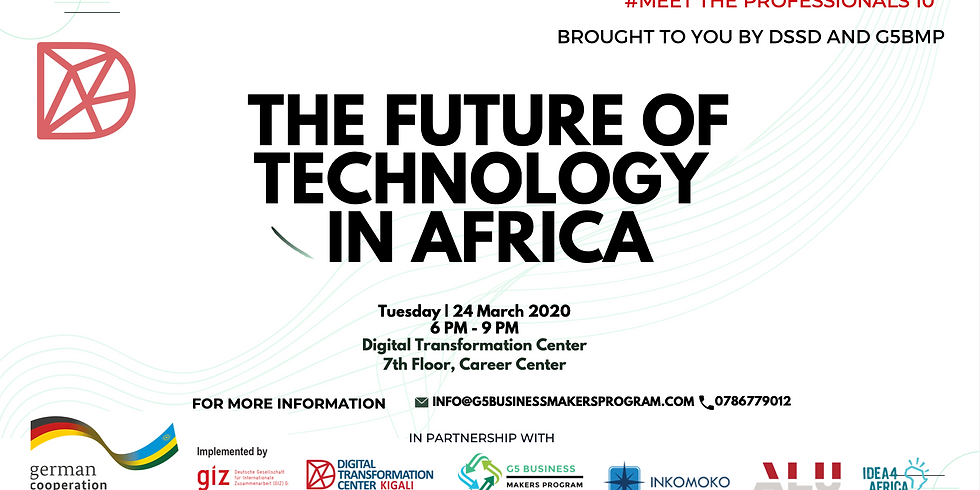 Meet The Professionals 10 - The Future of Technology in Africa