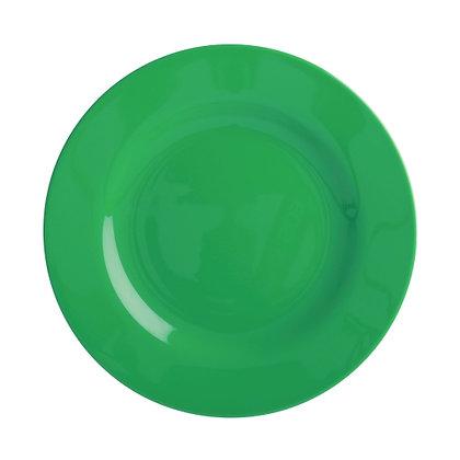 Melamine Side Plate in Forest Green