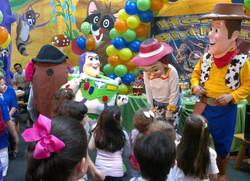 Toy Story en el D´ía del Niño